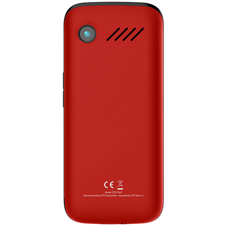 "Tim Easy Touch Telefono Android Display 2.8"" Fotocamera 2 Mp Whatsapp Colore Rosso"