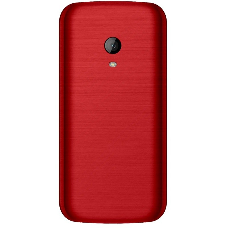 "Tim Onda CL100 Telefono cellulare Display TFT 2,4"" Bluetooth colore Rosso"