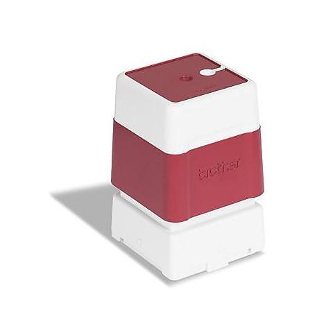 timbro rosso 20x20mm (conf. 6pz)