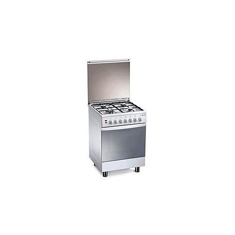 tl-667ws tecnogas cucina 4 fuochi forno elettrico+grill bianca
