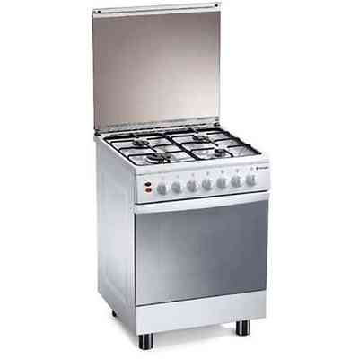 d-13ws tecnogas cucina da 50 cm 4 fuochi a gas forno elettrico ... - Cucina Quattro Fuochi