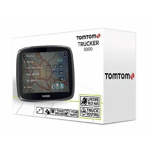 tom tom trucker 5000