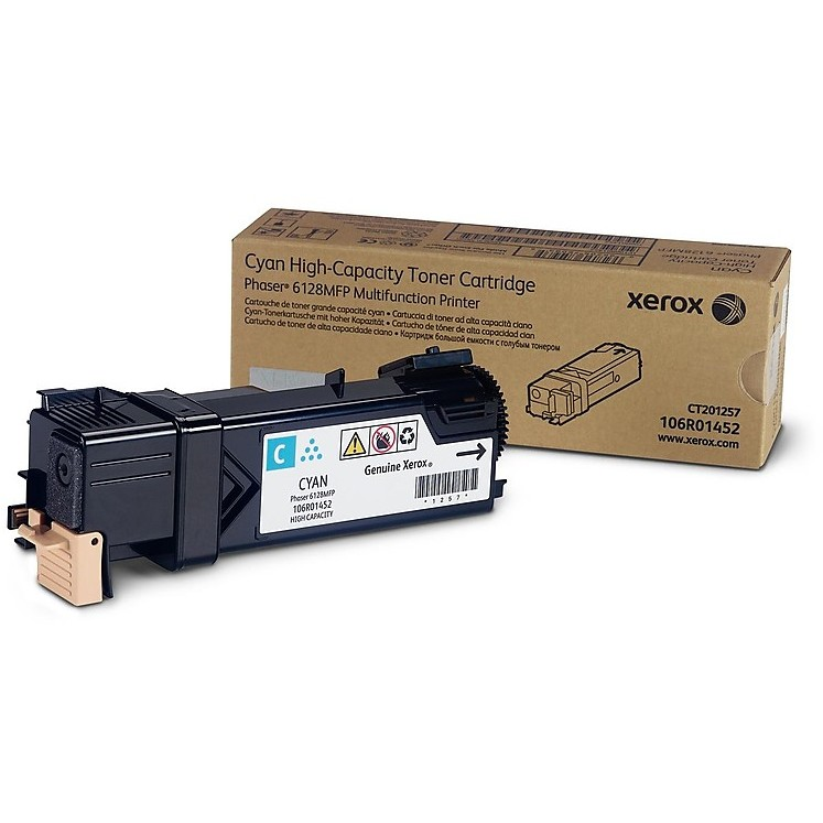 toner ciano standard phaser 6128