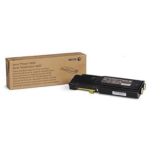 toner giallo std ph 6600/ wc 6605