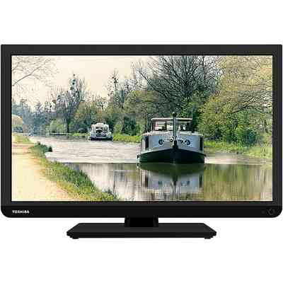 "TOSHIBA TOSHIBA 22-L1333G Tv 22"" Led Full HD DVB-T HD 2 USB 1 HDMI Slot CI+"