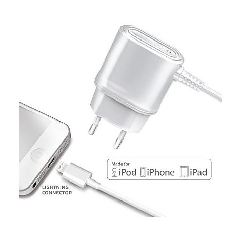 travel charger 1a iphone 5/5s/5c wh