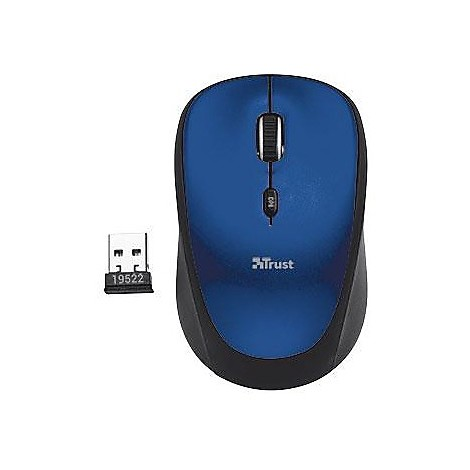 trust yvi wireless mouse -blu
