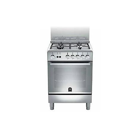 tu-64051dxt la germania cucina 60 cm 4 fuochi 1 forno elettrico inox
