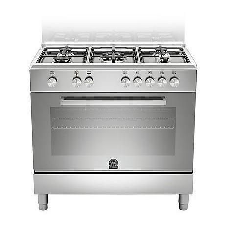 tu 95c61dxt la germania cucina 90 cm 5 fuochi 1 forno elettrico inox