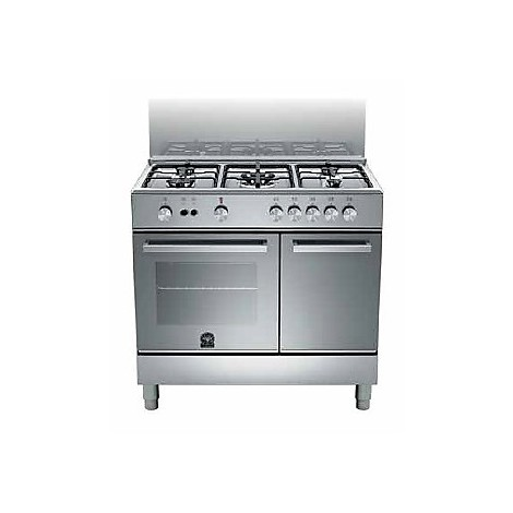 Tup 95c71dx La Germania Cucina 90 Cm 5 Fuochi 1 Forno A Gas Inox