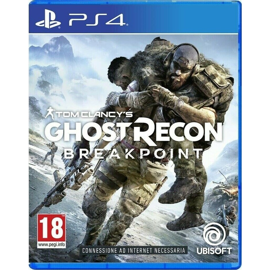 Ubisoft Ghost Recon Breakpoint Stand videogioco per PlayStation 4 Pegi 18
