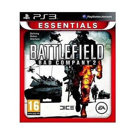 Videogames battlefield company 2 essential ps3