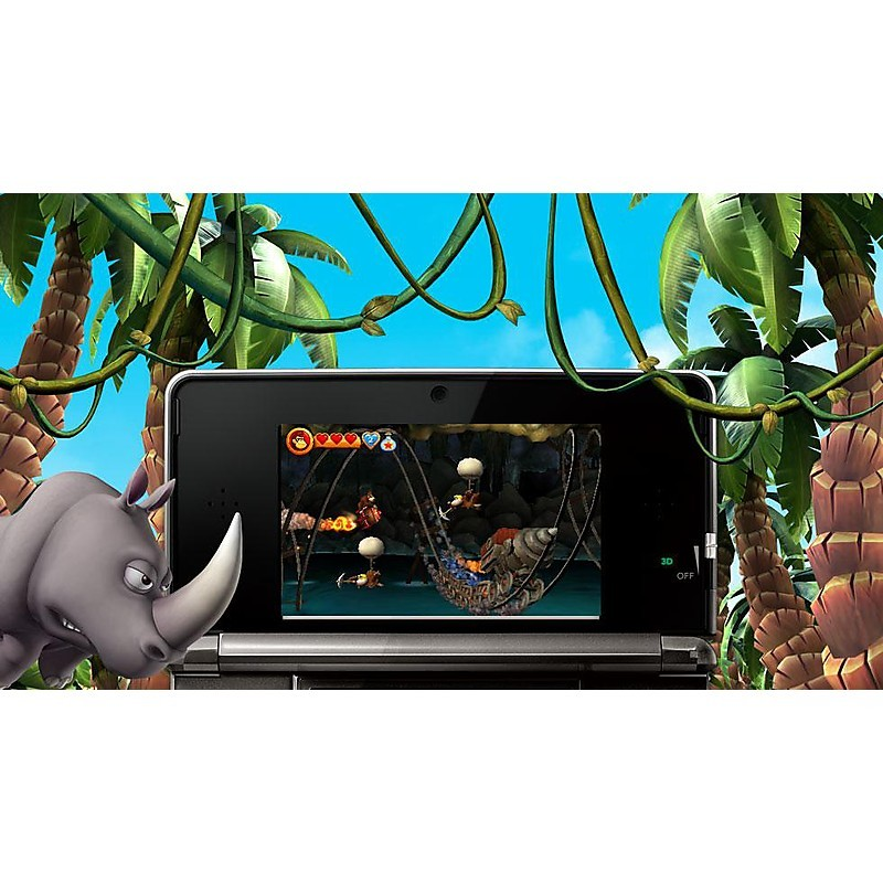 Videogames donkey kong country returns nintendo 3DS