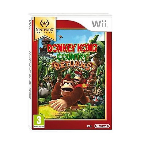 Videogames donkey kong country returns wii