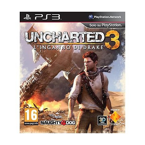 Videogames essentials uncharted 3 drakes deception ps3