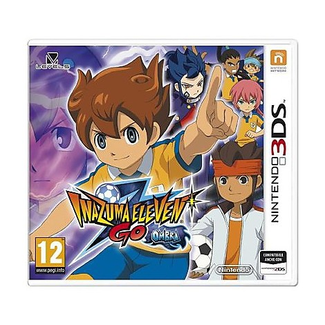 Videogames inazuma eleven go shadow 3ds