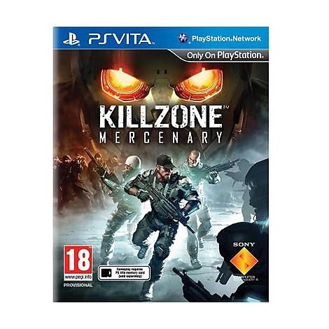Videogames killzone mercenary PSVITA