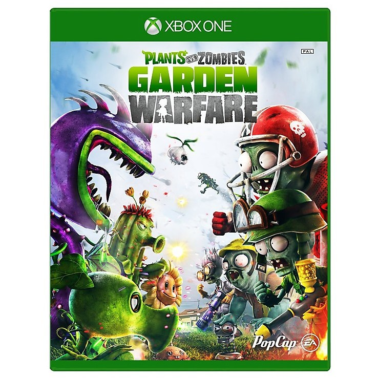 Videogames plants vs zombies garden warfare xbox one