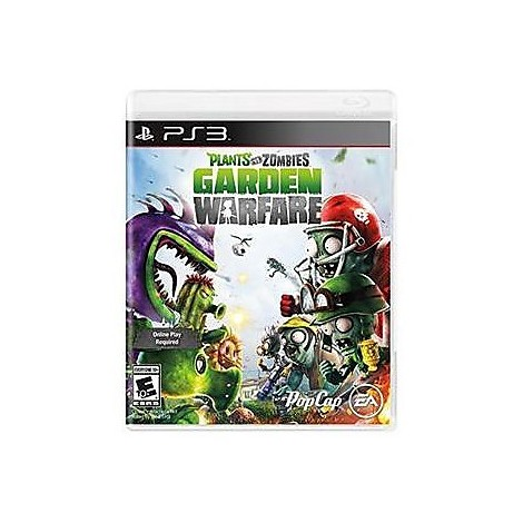 Videogames ps3 plants v zombies garden warfare