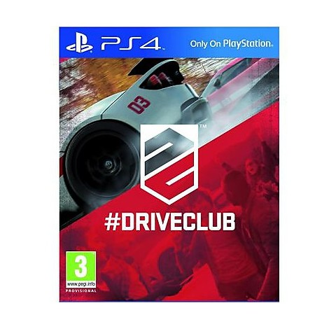 Videogames ps4 driveclub