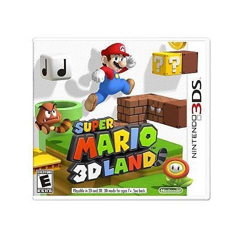 Videogames super mario 3D land 3DS