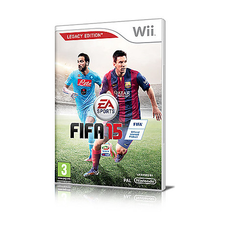 Videogames wii fifa 15