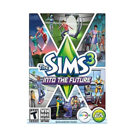 Videogames win the sims 3 into the future PC