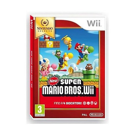 Videogasmes select new super mario bros Wii