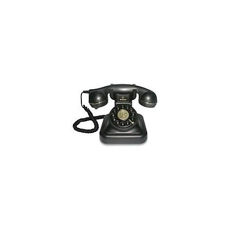 vintage-20 brondi telefono con filo retro nero