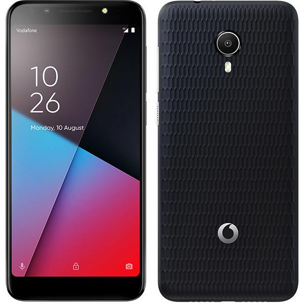 """Vodafone Smart N9 Lite Smartphone 5,34"""" memoria 16 GB Fotocamera 8 MP 4G Android 8.1 Go edition colore Nero"""
