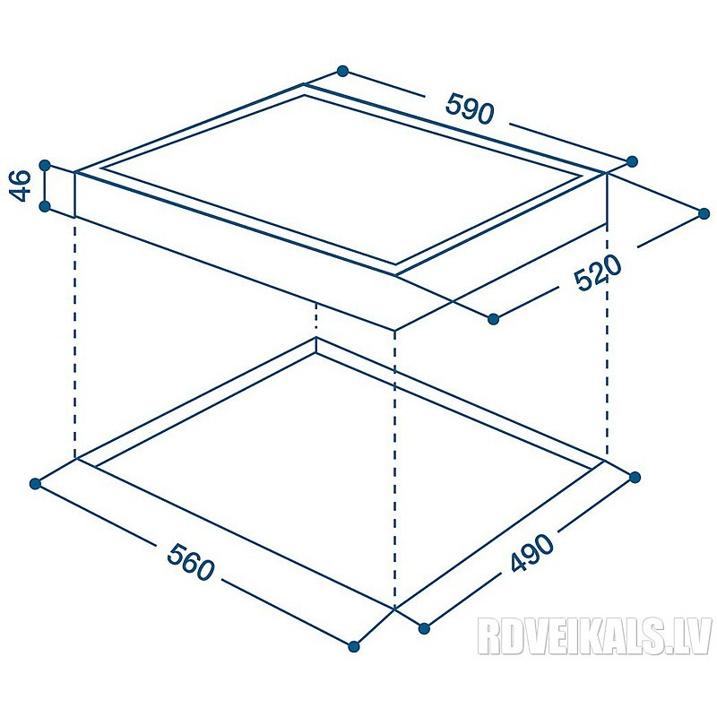 vrb-640 c (pt) indesit piano cottura induzione 60 cm 4 zone cottura