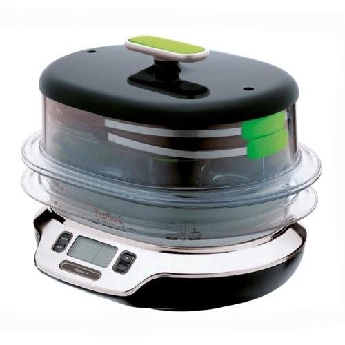 VS4003 Tefal Vaporiera Vitacuisine compact 1800w ricettario display digitale