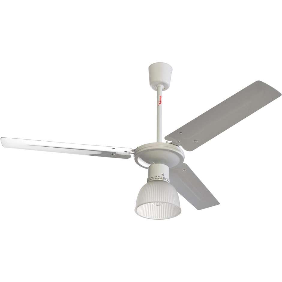 VSM11 Bimar ventilatore a soffitto 3 pale 60 watt 3 velocità bianco