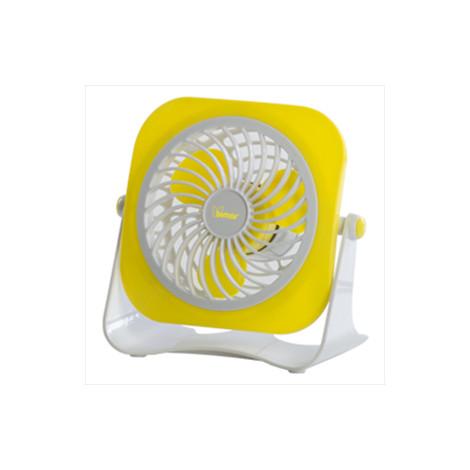 Vt14 bimar mini ventilatore da tavolo usb 10cm giallo trattamento aria ventilatori clickforshop - Ventilatore da tavolo usb ...