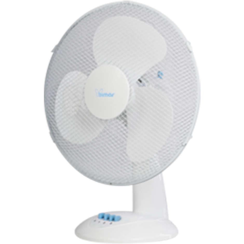 VT430 Bimar ventilatore da tavolo diametro 30cm 40w 3 velocità bianco