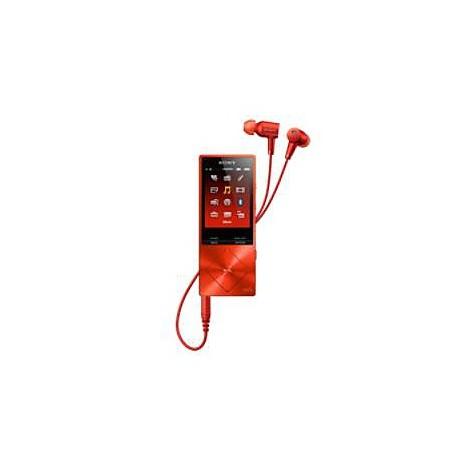 walkman hi-res rosso scarlatto