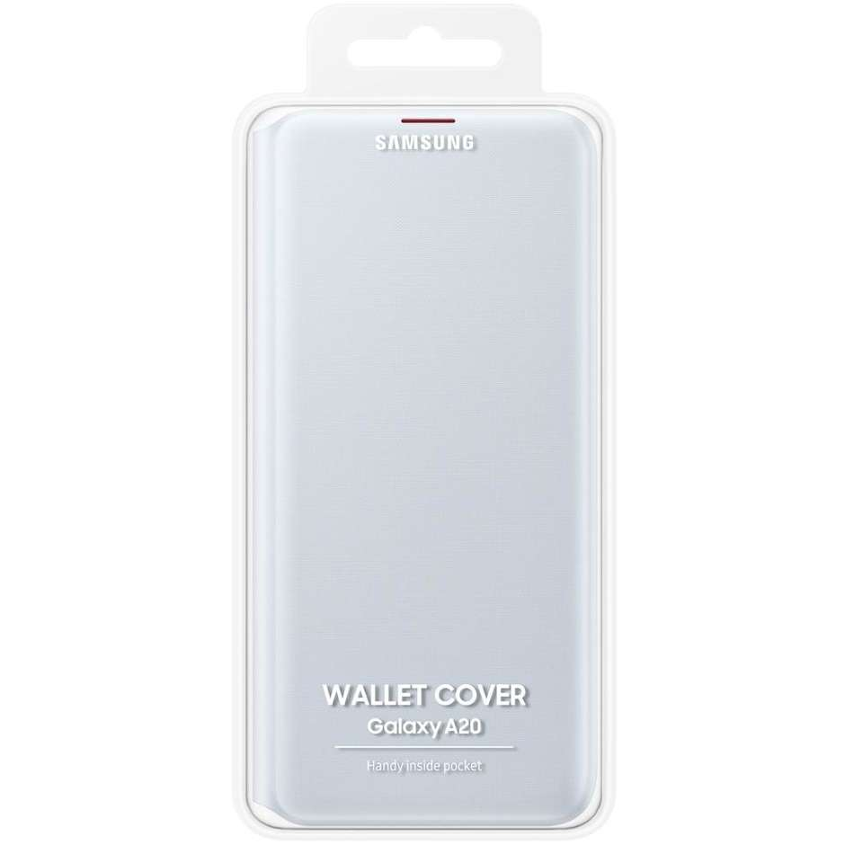 wallet cover white a20