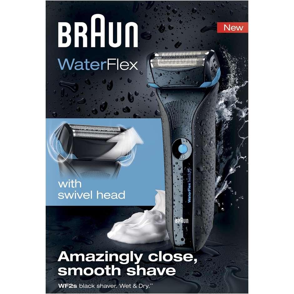 waterflexb braun rasoio a testina