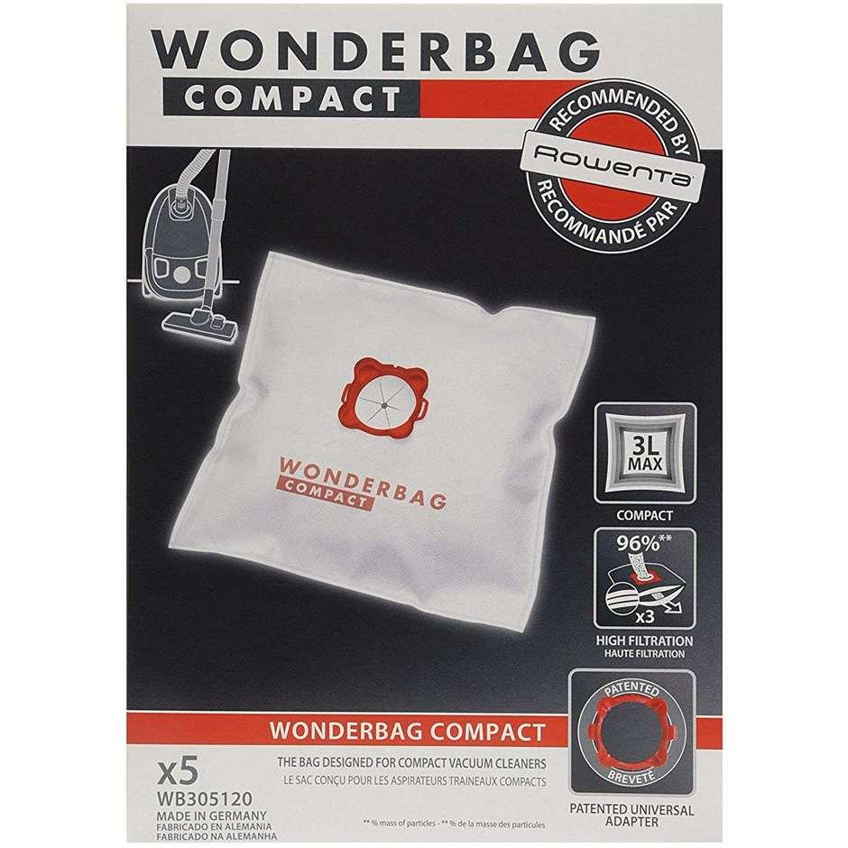 wb-3051 rowenta sacchetti per aspirapolvere