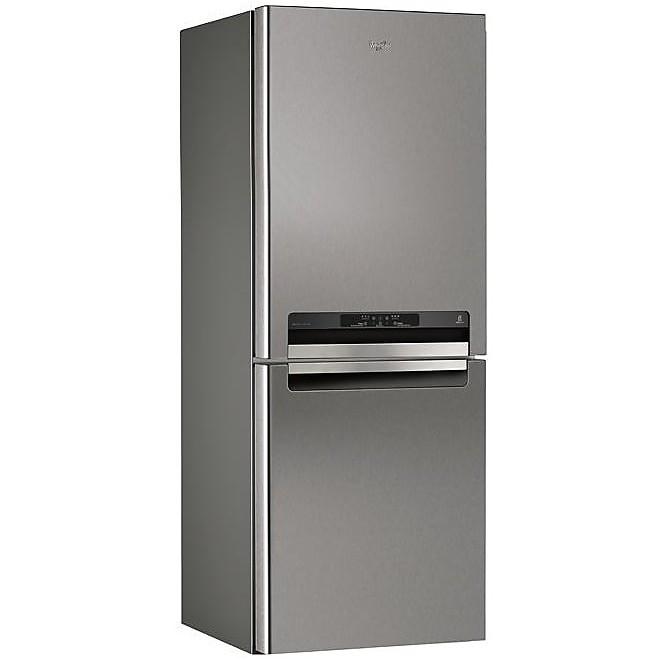 wba-43983nfc/ix whirlpool frigorifero classe a+++ combinato 454 lt largo 70 combinato inox