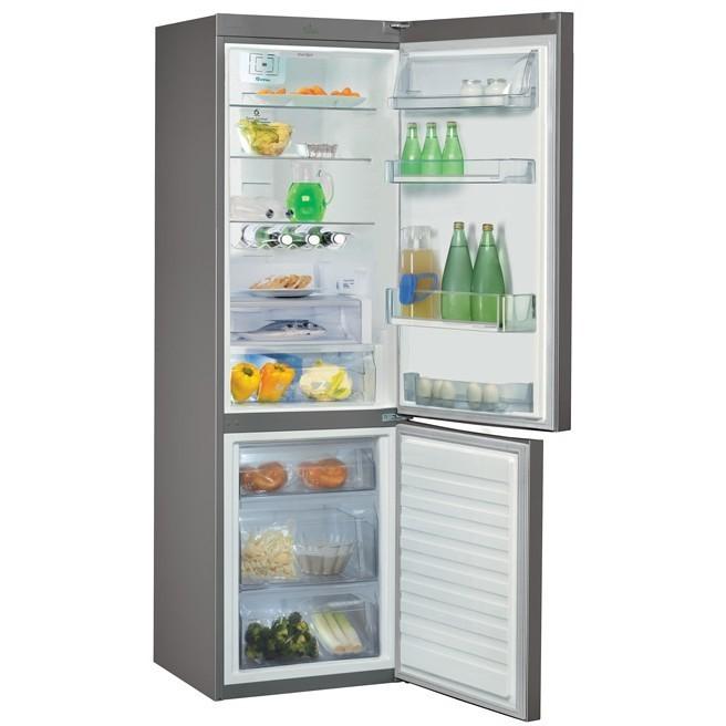 WBV36992NFC/IX Whirlpool frigorifero combinato 344 litri ...