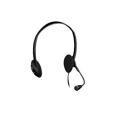 Webcam e cuffie con microfono exis chatpack  black