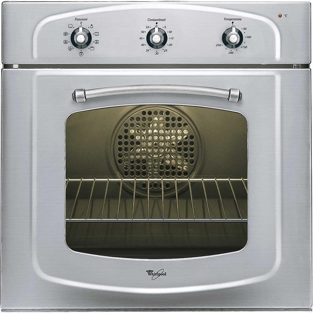 Whirlpool akp 255 ix forno elettrico multifunzione da incasso 56 litri classe a colore inox - Forno da incasso elettrico ...