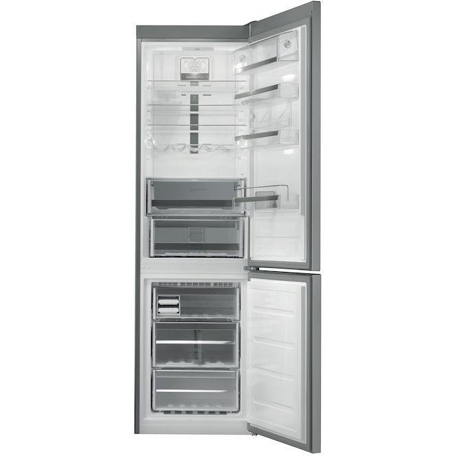 Whirlpool BSNF 9772 OX frigorifero combinato 346 litri classe A++ Total No Frost inox