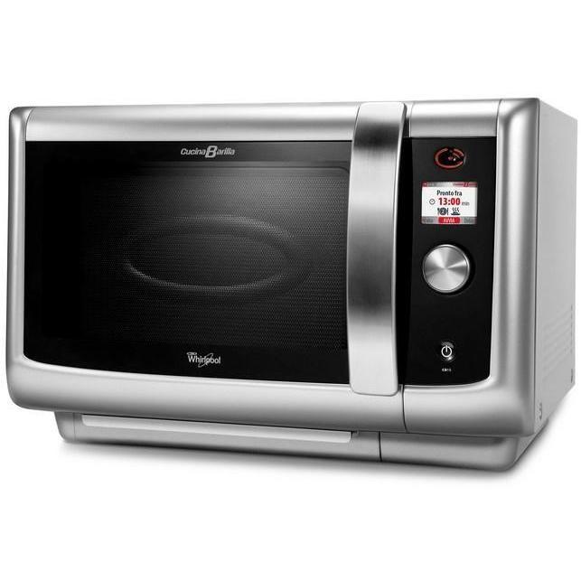 Whirlpool cb 15 sl forno a microonde 29 litri potenza 1000 watt grill colore argento cottura - Forno e microonde insieme ...