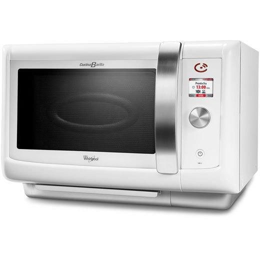 Whirlpool cb 15 wh forno a microonde 29 litri potenza 1000 watt grill colore bianco cottura - Forno e microonde insieme whirlpool ...