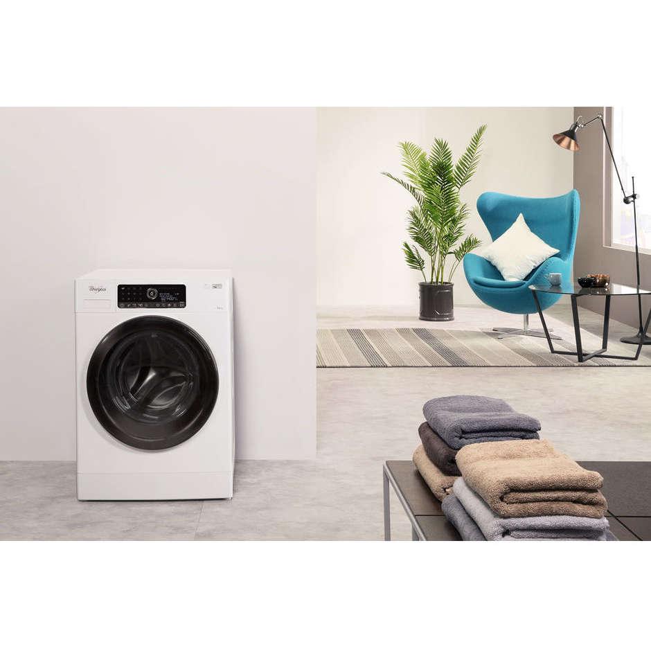 Whirlpool FSCR12443 lavatrice carica frontale 12 Kg 1400 giri classe A+++ colore bianco