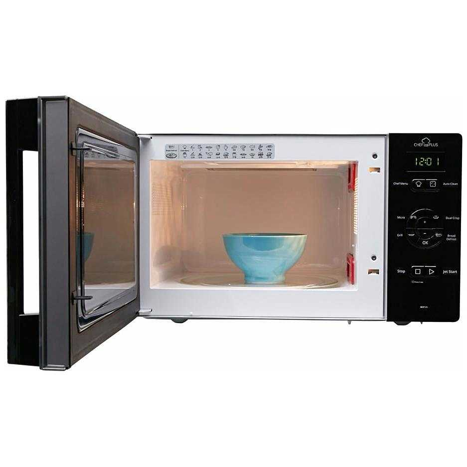 Whirlpool mcp 345 sl chefplus forno a microonde 25 litri potenza 800 watt colore argento - Forno e microonde insieme ...