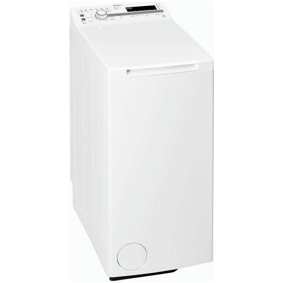 Whirlpool TDLR60214 Lavatrice carica dall'alto 6Kg Classe A+++ 1200 giri/min colore Bianco