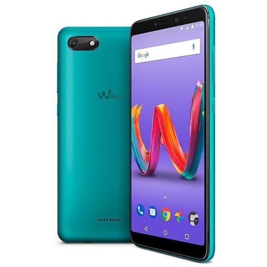 "Wiko Harry 2 Smartphone 5,45"" HD Dual Sim memoria 16 GB Fotocamera 13 MP Android colore Bleen"